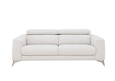 Flavio 3 Seater Fabric Sofa in Bfa-Mad-R06 Bisque on FV