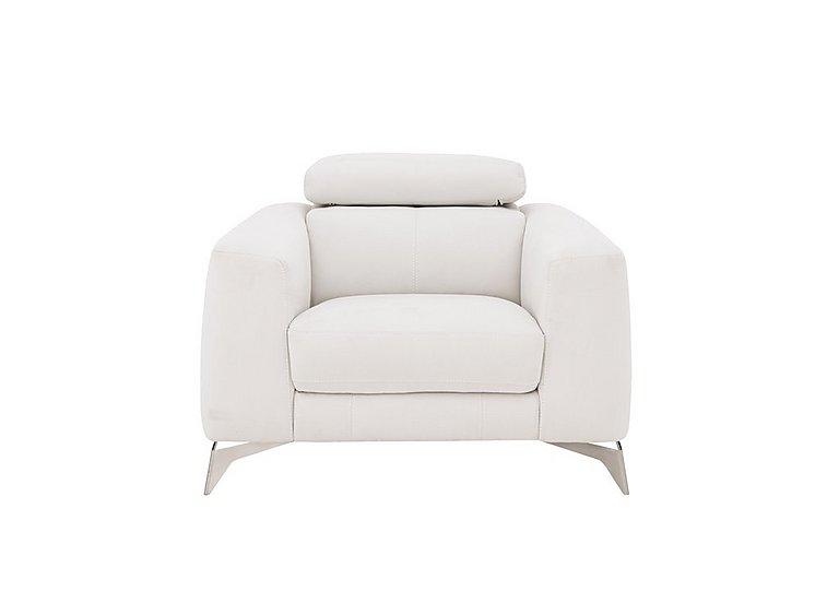 Flavio Fabric Armchair in Bfa-Mad-R06 Bisque on Furniture Village