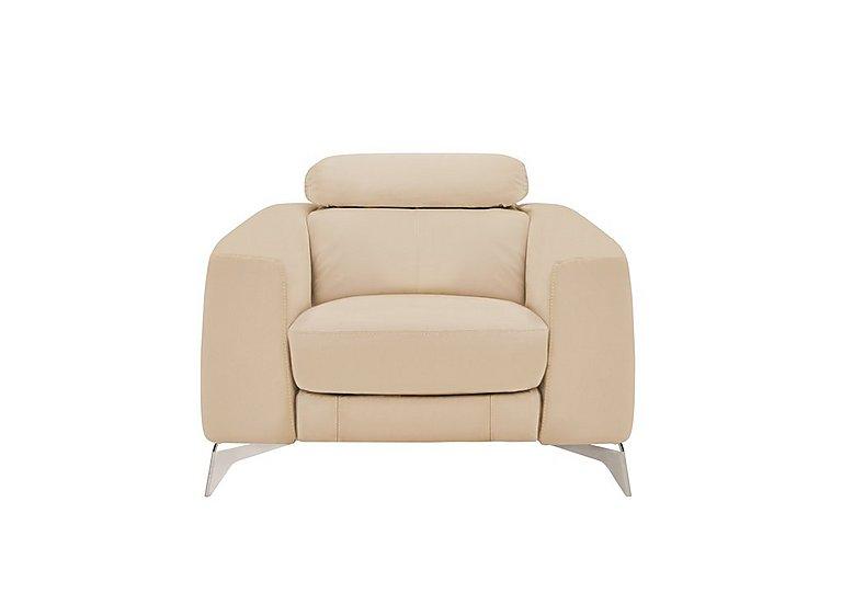 Flavio Leather Armchair
