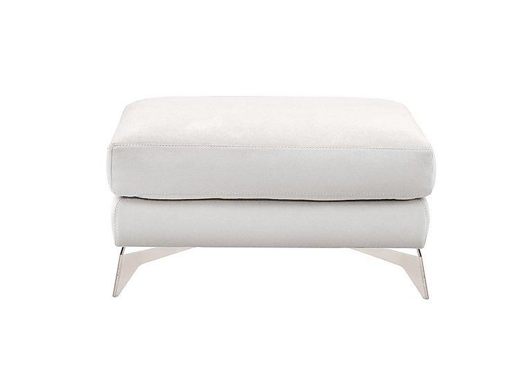 Flavio Fabric Footstool in Bfa-Mad-R06 Bisque on Furniture Village