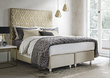 Amira Hashish Sand Divan Set in  on Furniture Village