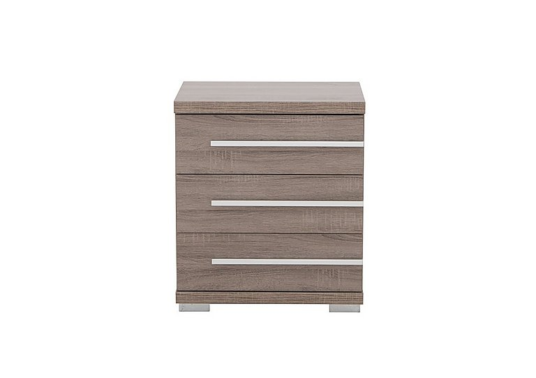 Laguna 3 Drawer Bedside Table Right Side Handles