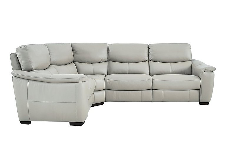 Flex Leather Power Recliner Corner Sofa - Only One Left!