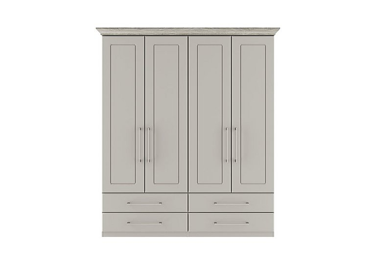 Eaton 4 Door 4 Drawer Wardrobe