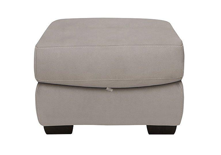 Shades Fabric Storage Footstool in Bfa-Blj-22 Dove Grey on FV