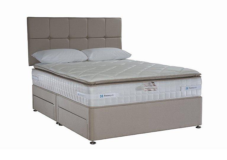 Pillow Top 2200 Divan Set in Caramel on Furniture Village