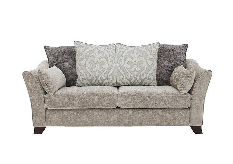 Annalise II 3 Seater Fabric Pillow Back Sofa