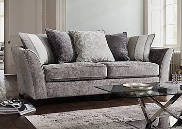 Annalise II 4 Seater Fabric Pillow Back Sofa in  on FV