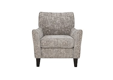 Annalise II Fabric Accent Armchair in Crombie Plain Truffle Dk on Furniture Village