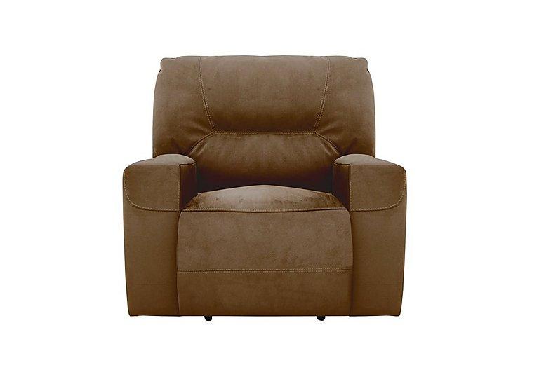 Eden Fabric Recliner Armchair