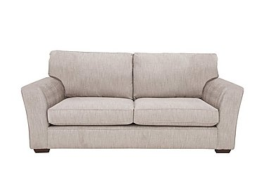 The Avenue Collection Madison Avenue 3 Seater Fabric Sofa in Carson Pebble Dk Col 3 on FV