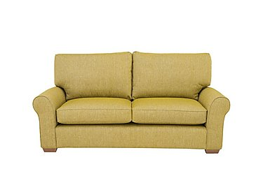 The Avenue Collection Park Avenue 2 Seater Fabric Sofa in Jersey Lime Lt Col 2 on Furniture Village