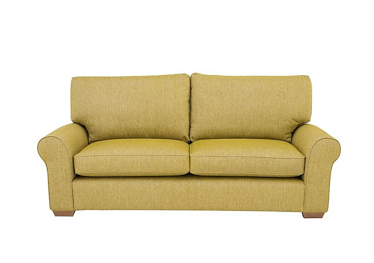 The Avenue Collection Park Avenue 3 Seater Fabric Sofa in Jersey Lime Lt Col 2 on FV