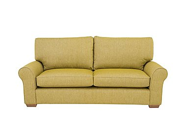 The Avenue Collection Park Avenue 3 Seater Fabric Sofa in Jersey Lime Lt Col 2 on Furniture Village