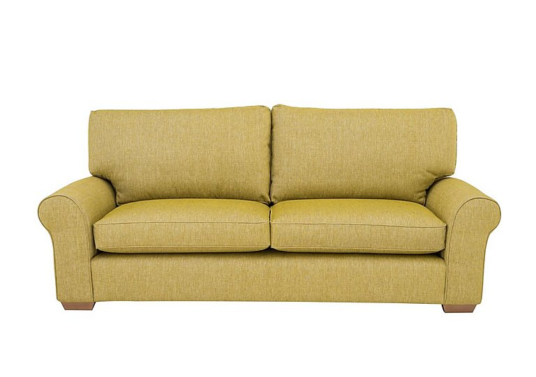 The Avenue Collection Park Avenue 4 Seater Fabric Sofa in Jersey Lime Lt Col 2 on Furniture Village