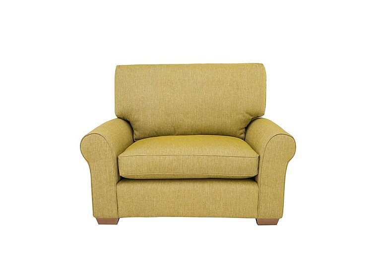 The Avenue Collection Park Avenue Fabric Armchair in Jersey Lime Lt Col 2 on Furniture Village