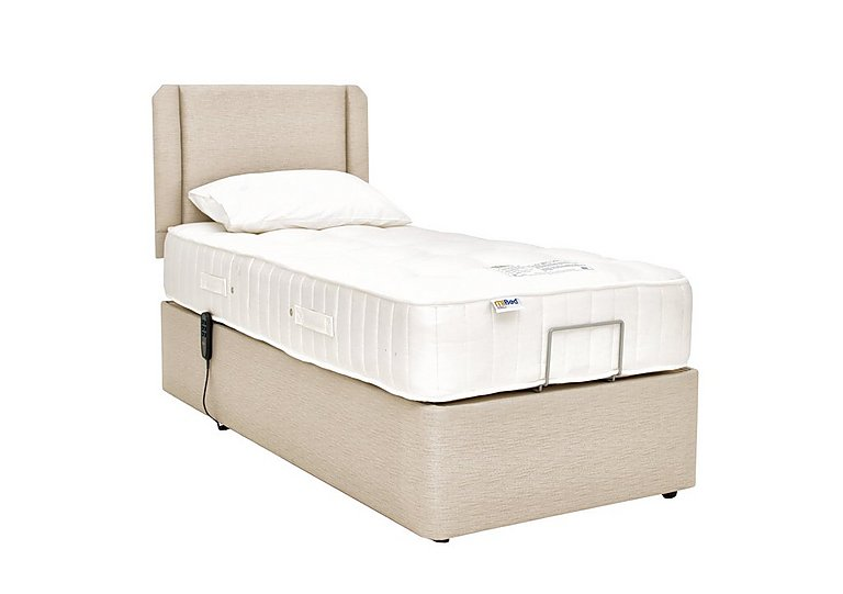 All Seasons Adjustable Bed in Wheat on Furniture Village