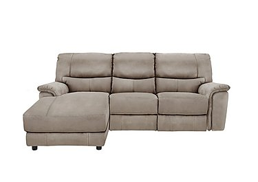 Relax Station Bliss Fabric Recliner Corner Chaise in Bfa-Blj-R946 Silver Grey on Furniture Village