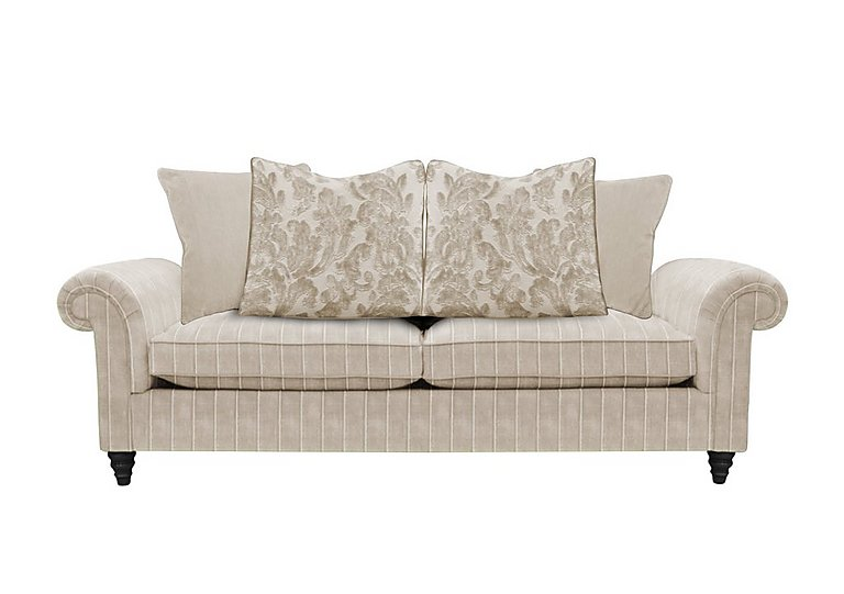 The Prestige Collection Knightsbridge 3 Seater Fabric Pillow Back Sofa