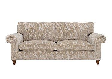 The Prestige Collection Knightsbridge 4 Seater Fabric Sofa in 94965-02 Blessington Sand on FV