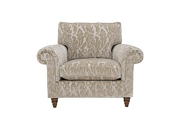 The Prestige Collection Knightsbridge Fabric Armchair in 94965-02 Blessington Sand on Furniture Village
