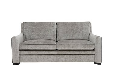 The Prestige Collection Bayswater 3 Seater Fabric Sofa in 94151-16 Dolce Graphite on FV