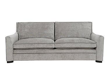 The Prestige Collection Bayswater 4 Seater Fabric Sofa in 94151-16 Dolce Graphite on Furniture Village