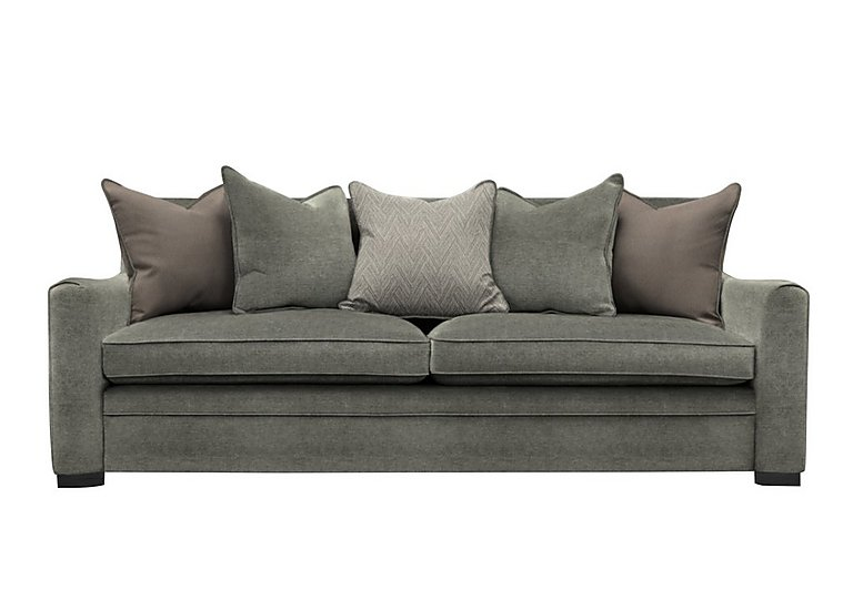 The Prestige Collection Bayswater 4 Seater Fabric Pillow Back Sofa