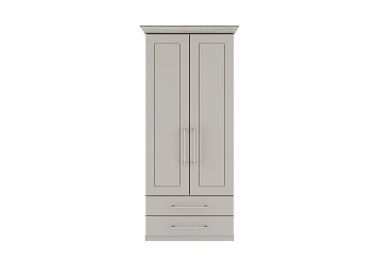 Eaton 2 Door Gentleman's Wardrobe