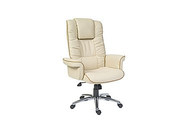 East River Pier 17 Office Chair in Cream on FV