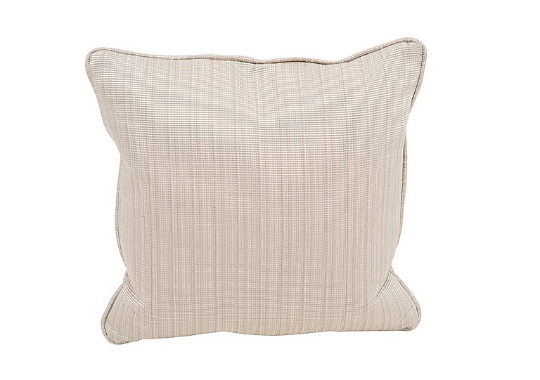 """Wellington 17"""" Scatter Cushion in Altan Rib Champagne on FV"""