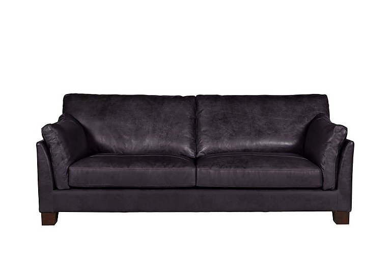 Hillcroft 3 Seater Leather Sofa
