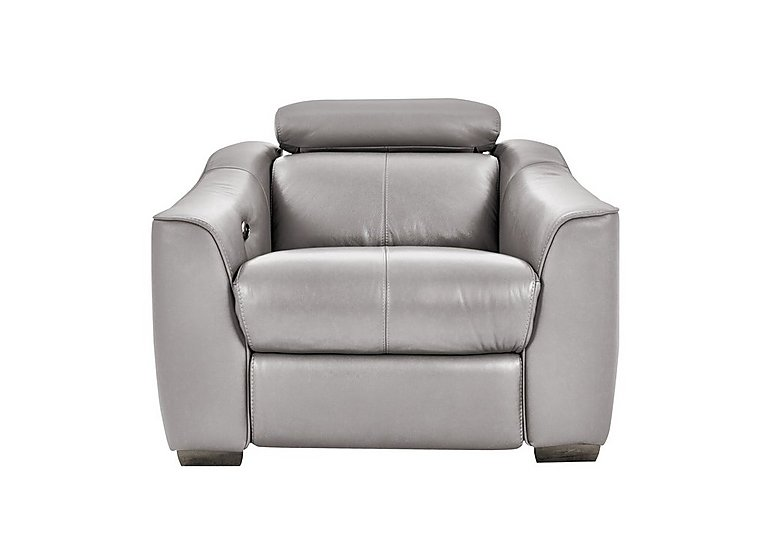 Elixir Leather Power Recliner Armchair - Only One Left!