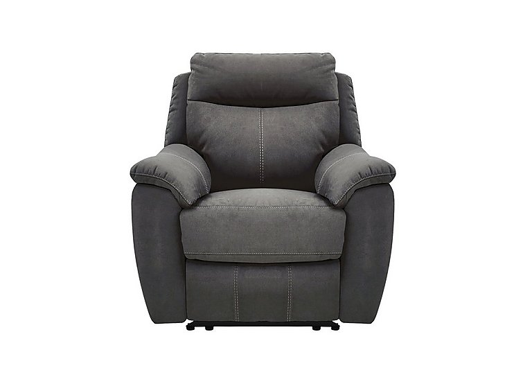 Snug Fabric Recliner Armchair - Only One Left!