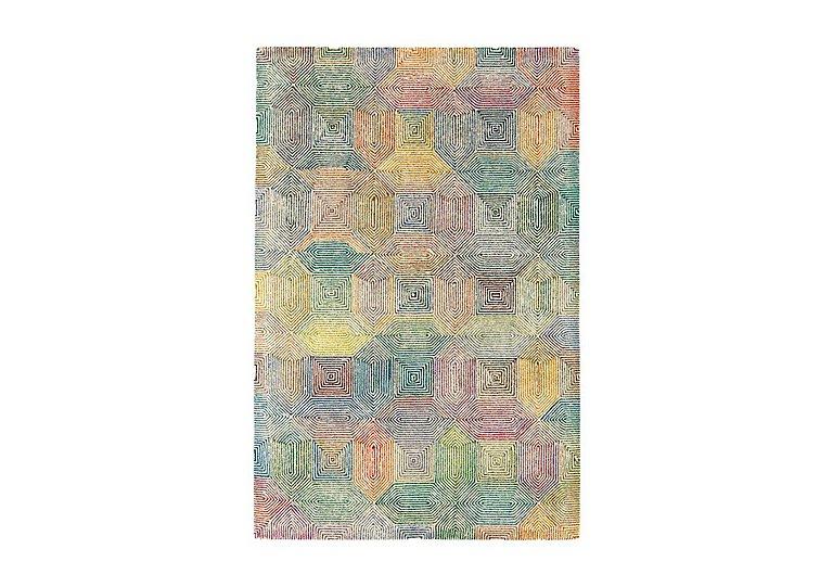 Varrick Wool Rug Medium in Cream Multi on Furniture Village