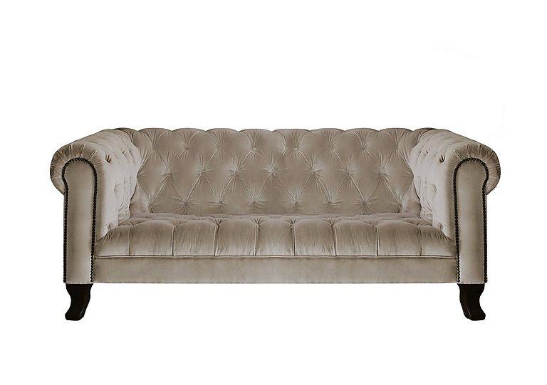 New England Hampton 3 Seater Fabric Sofa