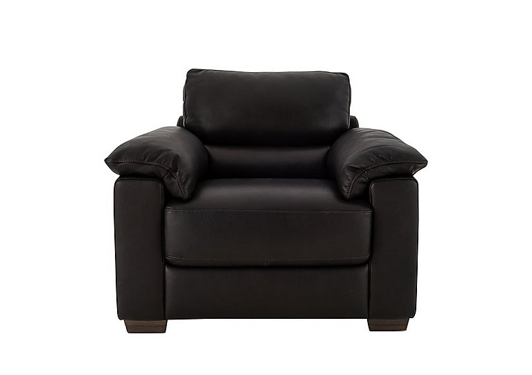 Santeramo Leather Armchair - Only One Left!