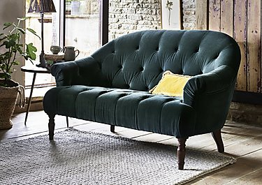 New England Nantucket 2 Seater Fabric Sofa in  on Furniture Village