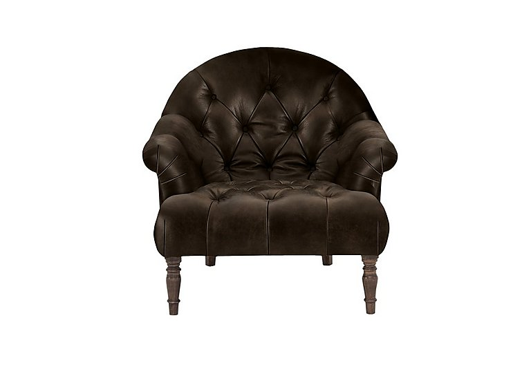New England Nantucket Leather Armchair