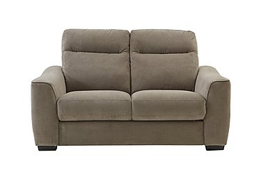 Paloma 2 Seater Fabric Sofa - Only One Left! in Grd R39 Cocoa on FV