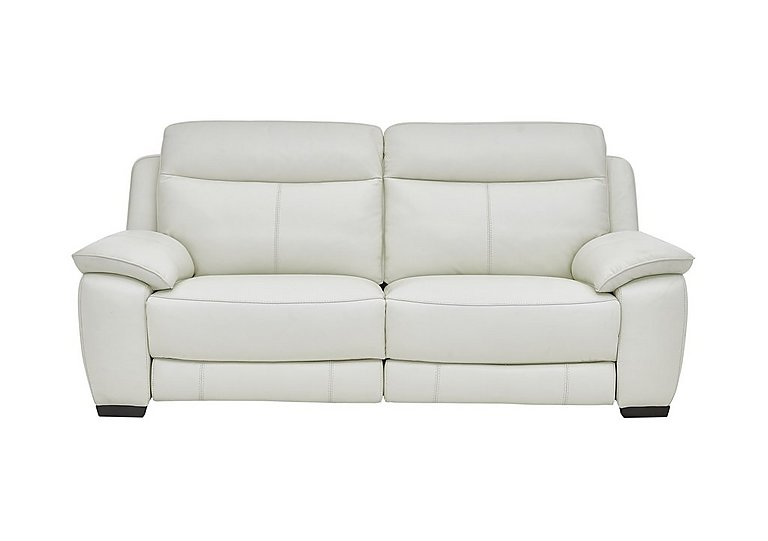 Starlight Express 3 Seater Leather Power Recliner Sofa - Only One Left!