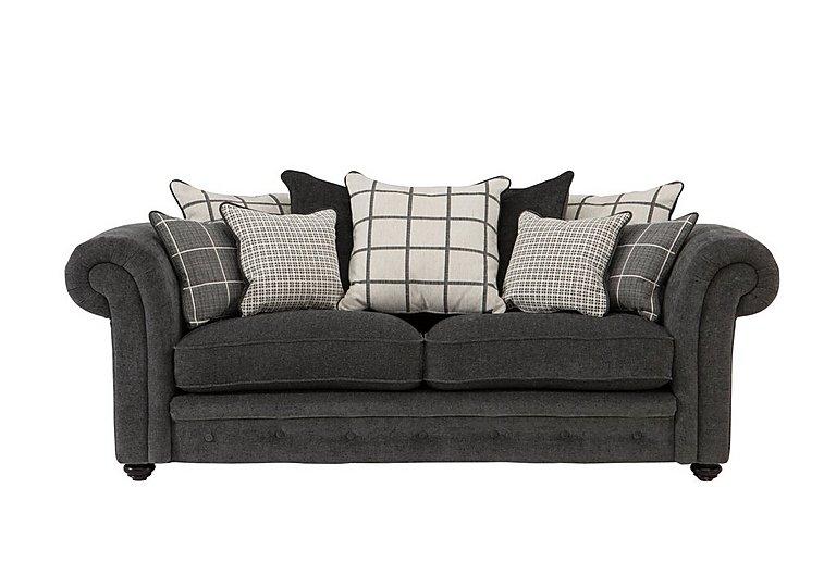 Islington 3 Seater Fabric Pillow Back Sofa