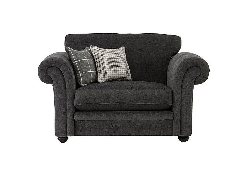 Islington Fabric Snuggler Armchair