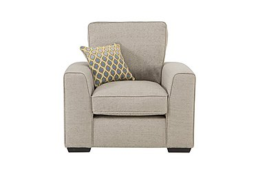 Adora Fabric Armchair in Grey on FV