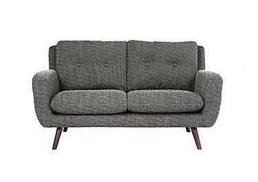 Aldo 2 Seater Fabric Sofa in 5344 Picasso 06 Grey on Furniture Village