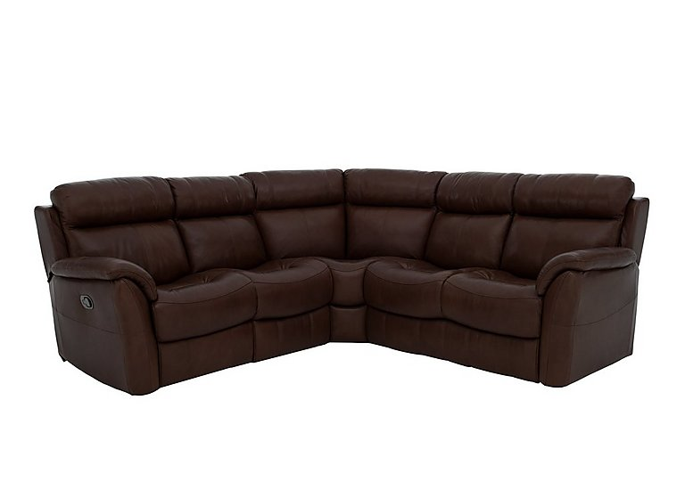 Relax Station Revive Leather Recliner Corner Sofa