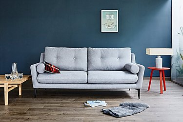 Pia 2 Seater Fabric Sofa in  on Furniture Village