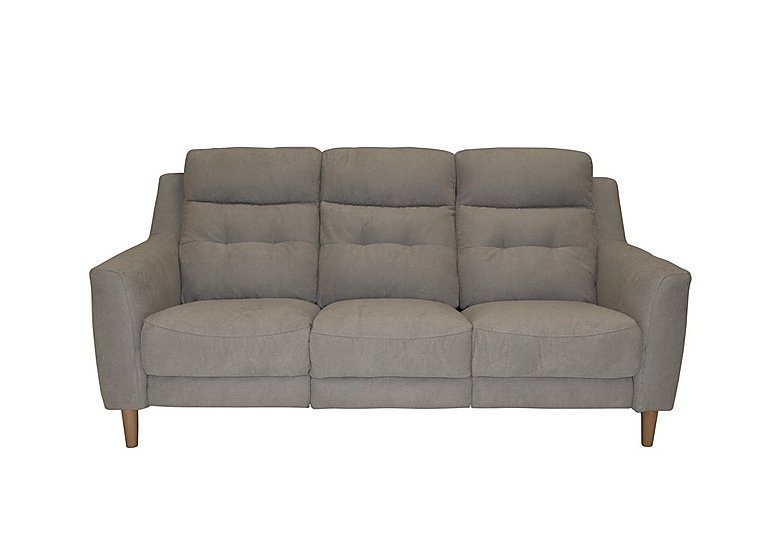 Bijoux 3 Seater Fabric Power Recliner Sofa - Only One Left!