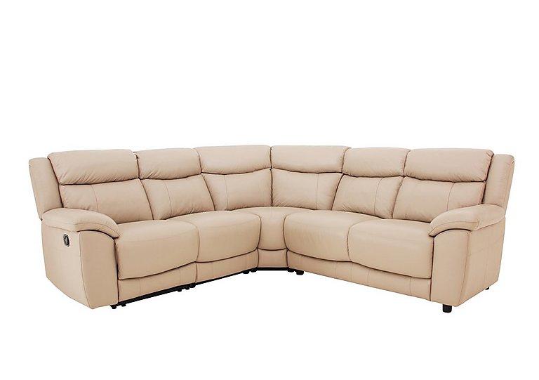 Bounce Leather Recliner Corner Sofa