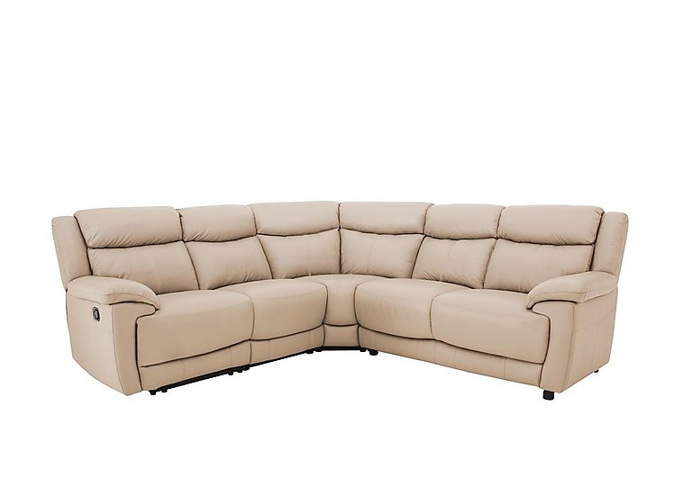 Touch Leather Recliner Corner Sofa
